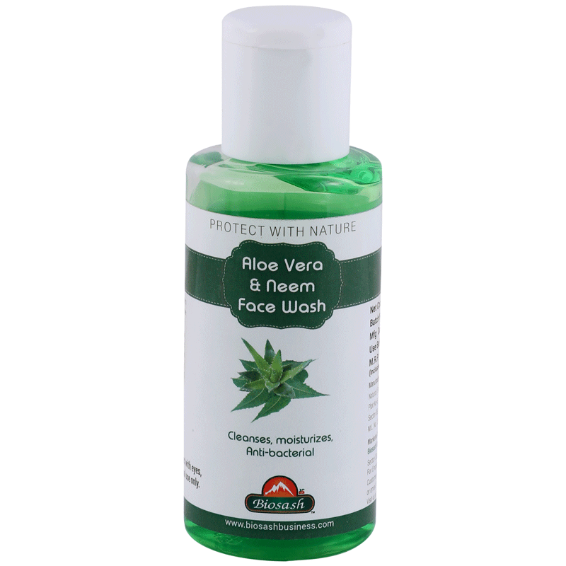Aloe Vera and Neem Face Wash