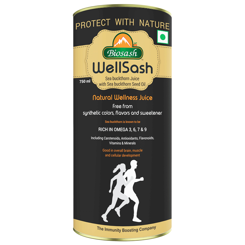 Wellsash Seabuckthorn Juice with Seabuckthorn Seed Oil