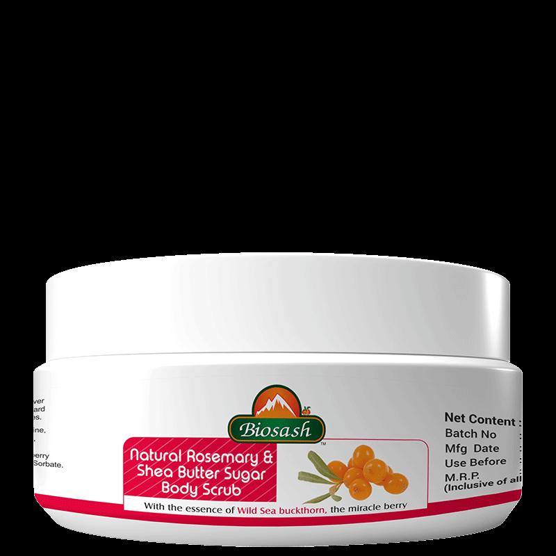 Natural Rosemary & Shea Butter Sugar Body Scrub