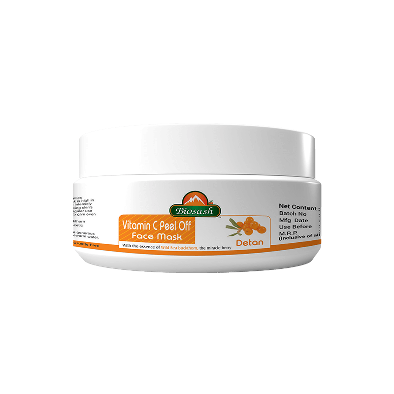 VITAMIN-C PEEL OFF FACE MASK (DE TAN)