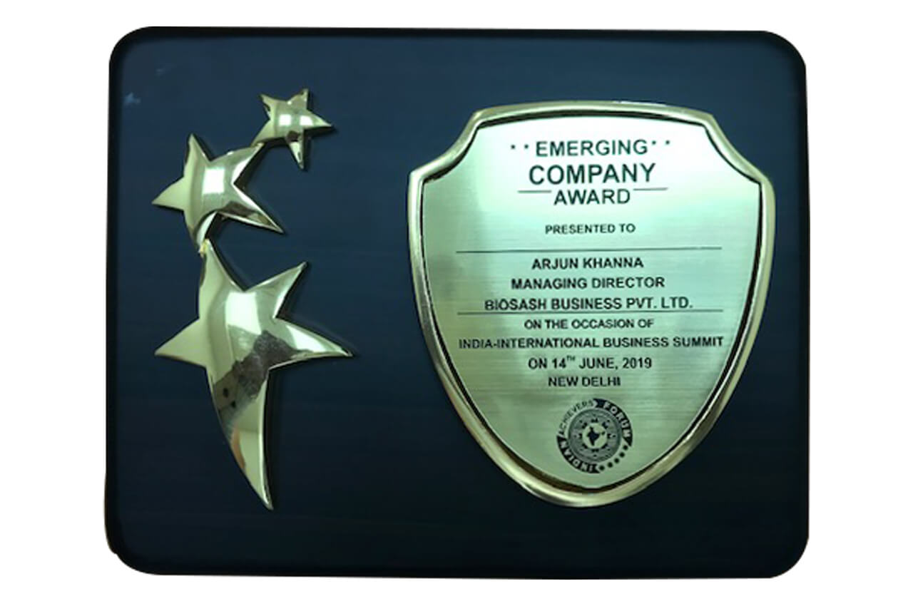 Emerging Company Brand Award