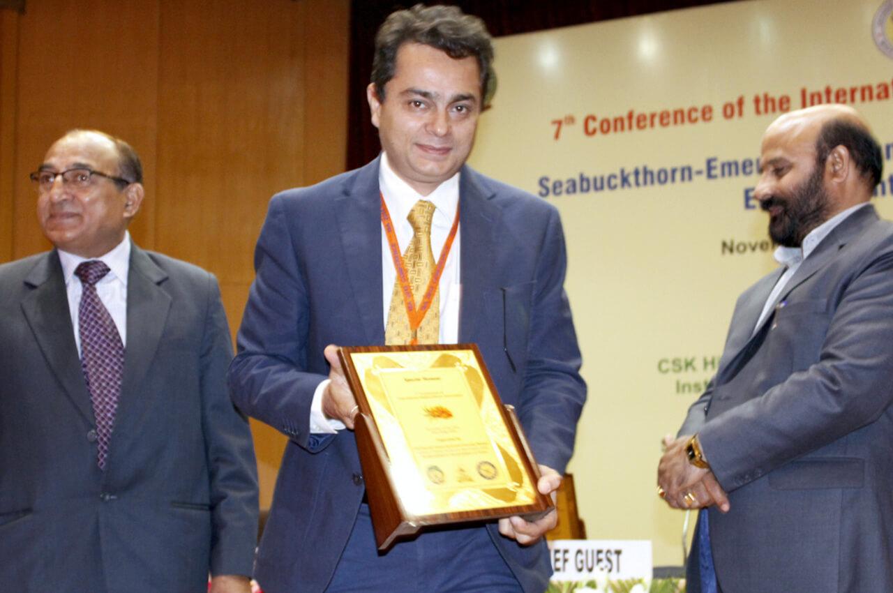 Conference of International Sea buckthorn Association at New Delhi